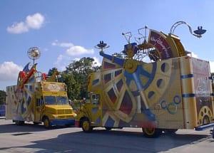 Parade Vans
