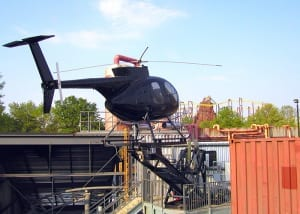 Stunt Show Helicopter