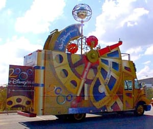 Disney Christmas Show Vans